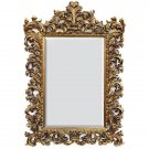 ANTIQUE STYLE FABULOUS LARGE BAROQUE GOLD GILT MIRROR,59''TALL!