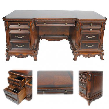 FABULOUS EXECUTIVE PRESIDENT ROOSEVELT,CHERRY COMPUTER OFFICE  DESK
