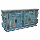 ELEGANT BEATRIZ SIDEBOARD/BUFFET,92''WIDE X 16''D X 44''TALL.
