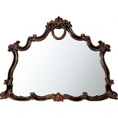 ANTIQUE FEDERAL STYLE  LARGE MIRROR,59'' X 43''TALL.