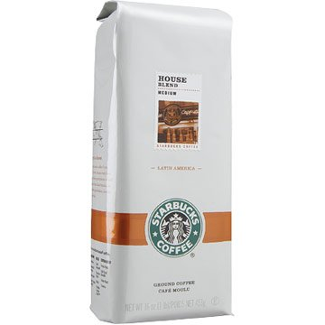 $8.99StarbucksFreeS/H  1LB House Blend Ground Coffee
