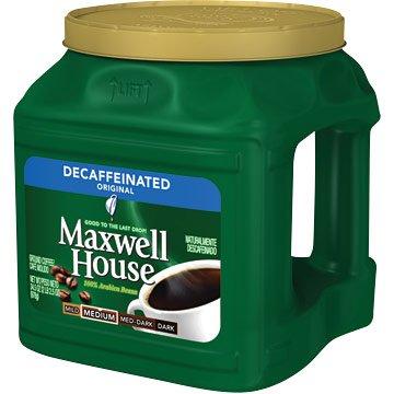 Maxwell House Coffee, Decaffeinated, 34.5 oz. Can