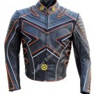 Mens X-Men X3 wolverine Last Stand motorcycle Leather Biker Jacket with armour