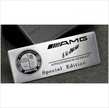 AMG AFFALTERBACH Special Edition Badge Emblem