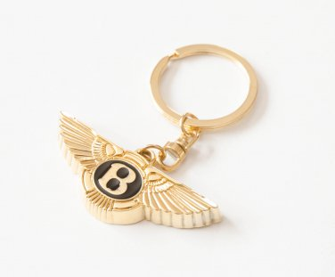 Bentley 24K Gold Plated Keyring