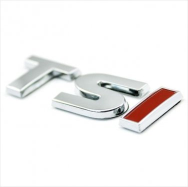 VW 1.4 TSI Metal 3D Badge / Emblem Sticker