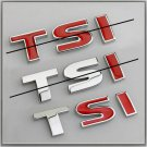 VW 1.8 TSI Metal 3D Badge / Emblem Sticker