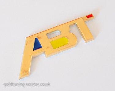 ABT Metal 3D Rear Badge Emblem Sticker for Audi, VW, Seat, Skoda