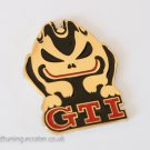 VW GTI 24K Gold Plated 3D Badge / Emblem Sticker