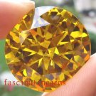 198.15CT HUGE STUNNING YELLOW ROUND ZIRCON
