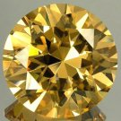 200.65CT BEAUTIFUL CHAMPAGNE YELLOW ROUND  ZIRCON