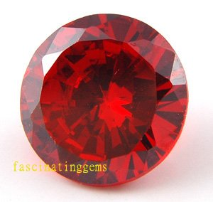 21.65CT BEAUTIFUL STUNNING CIRCULAR RED ZIRCON