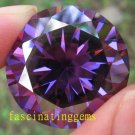 20.65CT HUGE EXCELLENT STUNNING ROUND DEEP PURPLE ZIRCON