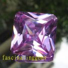 IF~45.00CT BEAUTIFUL SQUARE LILAC ZIRCON