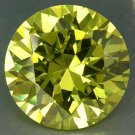 47.95CT BIG ELEGANT STUNNING ROUND YELLOW GREEN ZIRCON