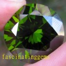 48.95CT BIG ELEGANT STUNNING ROUND YELLOW GREEN ZIRCON
