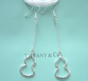 Amazing Sterling new style cucurbit long dangling earrings