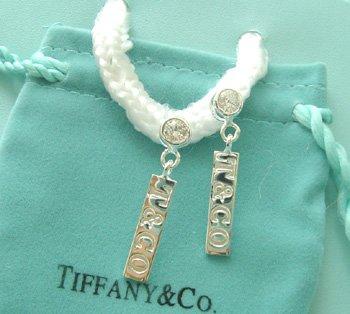 Amazing Sterling new style gemmy 1837 dangling earrings