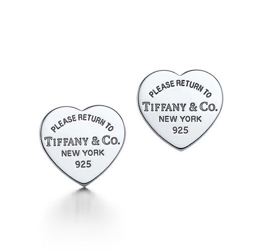 Amazing Sterling new style heart earrings