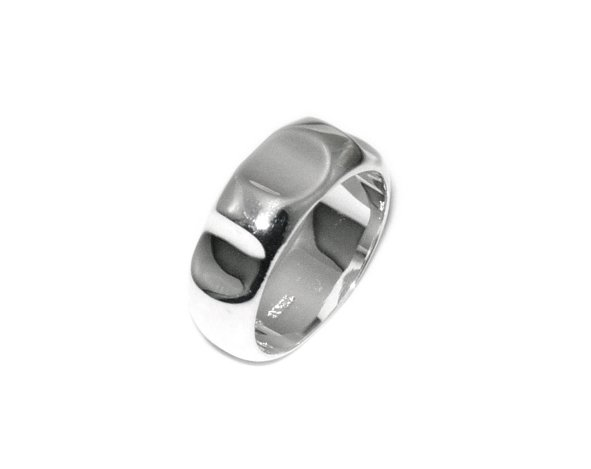Beautiful Sterling new roughness ring