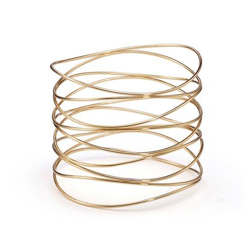 Beautiful Sterling countless ties bracelet bangle