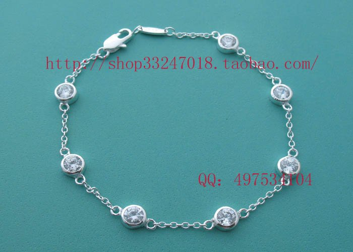 Beautiful 925 Sterling silver  seven beads bracelet,new arrival!