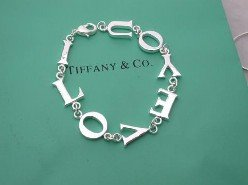 "Beautiful 925 Sterling silver  ""LOVE"" bracelet,new arrival!"