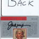Autographed JACK KEMP Card With Letter