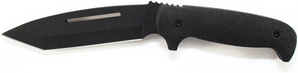 Schrade Knives: Schrade Full Tang Drop Point Tanto Fixed Blade SCHF17
