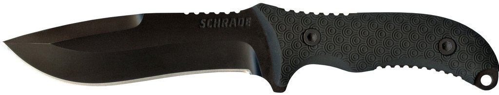 Schrade Knives: Extreme Survival Full Tang Drop Pt. Fixed Blade Knife SCHF26