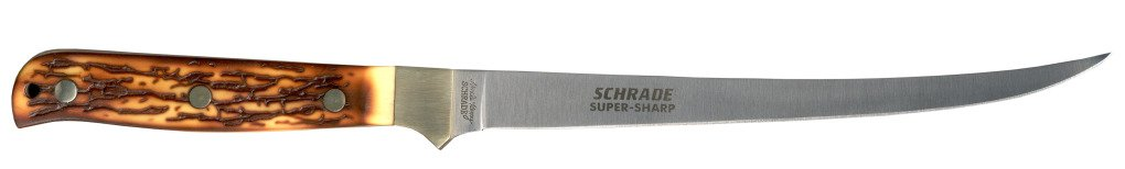 Schrade Knives: Uncle Henry Steelhead Fillet Knife 167UH