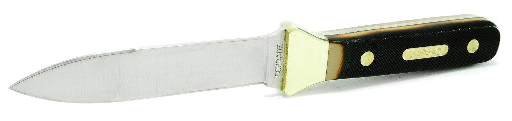 Schrade: Old Timer Boot Knife Full Tang Fixed Blade Knife 162OT