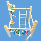 Large parrot cage top play gym-toys,ladder,swing. For amazons,greys,mini macaws