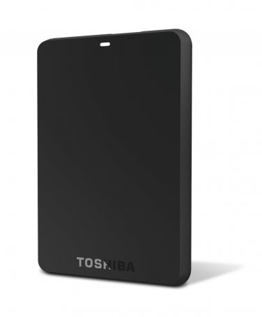 Toshiba Canvio 1TB 3.0 Basics Black Portable External Hard Drive HDTB210XK3BA Mobile Data Storage