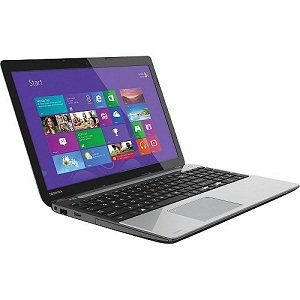 "Satellite L55-A5168 15.6"" LED (TruBrite) Notebook  Mercury Silver in Fusion Horizon"