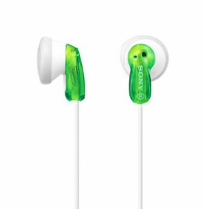 NEW Sony MDR-E9LP Green In-Ear Headphones