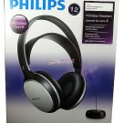 Philips Wireless Rechargeable HiFi Audio Headband Infrared Headphones SHC5100