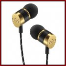 New House of Marley Uplift Grand In-Ear Earbud Headphones Gold EM-JE030-GN
