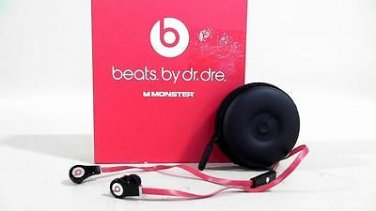 Beats By Dr Dre tour ControlTalk Monster Black In-Ear Headphones Red CHOP 2RCEz3