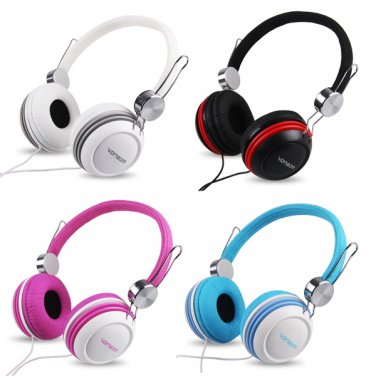 3.5mm Earphone Earbuds Stereo Headphone for iPod iPhone PC Cell Phone
