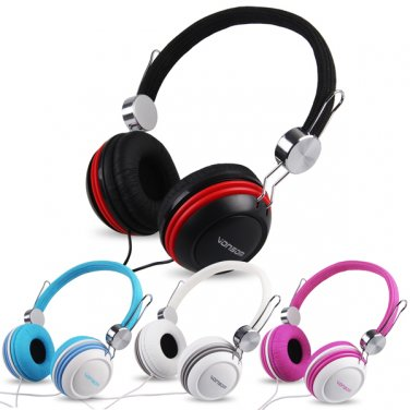 Over-Ear Stereo Earphone Headphone for MP3 MP4 PC Notebook iPod iPhone 3.5mm