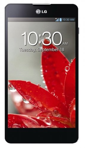 LG Optimus G E971 32GB Unlocked GSM 4G LTE Quad-Core Android Smartphone - Black
