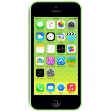 Apple iPhone 5c 32GB Green AT&T Smartphone