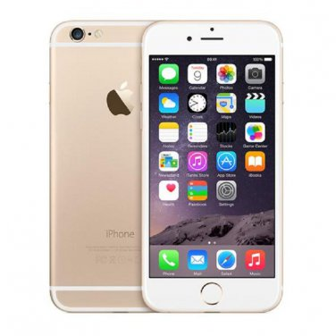 Apple iPhone 6 128GB Sprint Gold Smartphone A1586 4G LTE iOS 8 CDMA No-Contract Mobile Cell phone