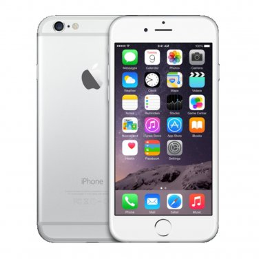 Apple iPhone 6 128GB AT&T Silver Smartphone A1549 4G LTE iOS 8 GSM No-Contract Mobile Cell phone