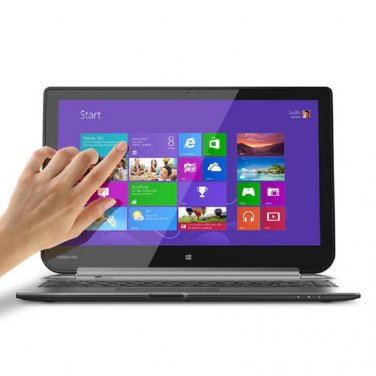 "Toshiba Satellite Click 2-in-1 13"" Touchscreen Laptop tablet Computer W35Dt-A3300 Silver Notebook PC"