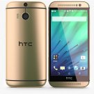 HTC One M8 16GB Unlocked Amber Gold Smartphone Dual Camera GSM Mobile Android Cellphone