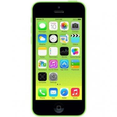 Apple iPhone 5c 8GB Verizon Wireless Green Smartphone CDMA A1532 4G LTE No Contract Mobile cellphone