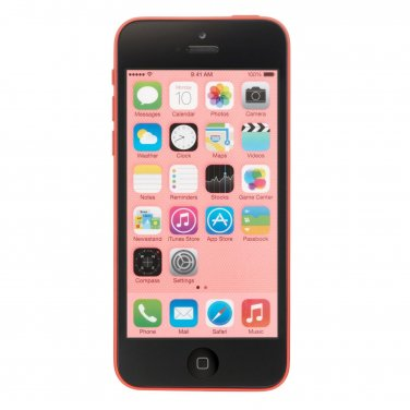 Apple iPhone 5c 8GB Verizon Pink Smartphone iOS 8 CDMA A1532 4G LTE No Contract Mobile cellphone