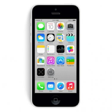 Apple iPhone 5c 32GB Sprint White Smartphone CDMA A1456 iOS 8 4G LTE No Contract Mobile Cellphone